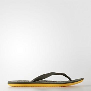 Zapatillas Adidas para hombre chancla hawaiana eezay utility gris/solar gold/trace cargo BA8793-434