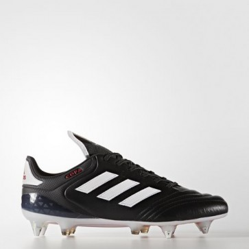 Zapatillas Adidas para hombre copa 17.1 césped natural core negro/footwear blanco/rojo BA9194-454