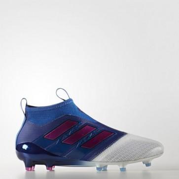 Zapatillas Adidas para hombre ace 17+ césped natural azul/shock rosa/footwear blanco BB4313-456
