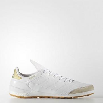 Zapatillas Adidas para hombre sala copa tango 17.1 crowning glory indoor footwear blanco/gold metallic BA7618-459