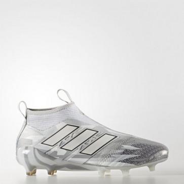 Zapatillas Adidas para hombre ace 17+ césped natural clear gris/footwear blanco/core negro BB5953-460