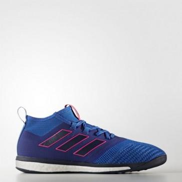Zapatillas Adidas para hombre ace tango 17.1 azul/collegiate navy/shock rosa BB4432-462