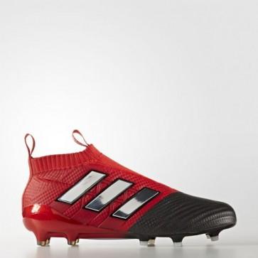 Zapatillas Adidas para hombre ace 17+ césped natural rojo/footwear blanco/core negro BB4314-466