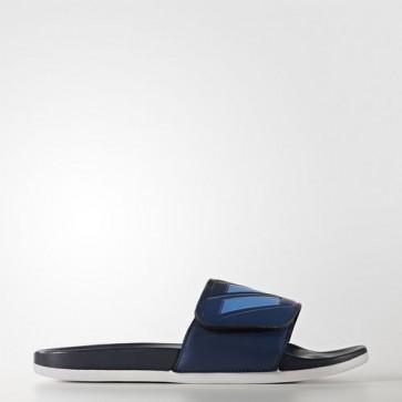 Zapatillas Adidas para hombre chancla lette cloudfoam plus mystery azul/tech azul metallic/collegiate navy BB4509-475
