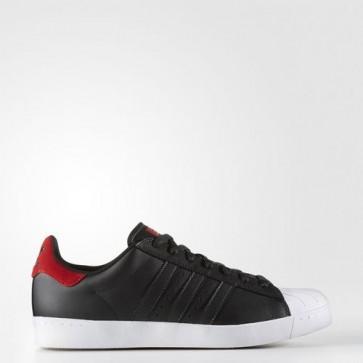 Zapatillas Adidas para hombre super star vulc core negro/scarlet/footwear blanco BB8610-522