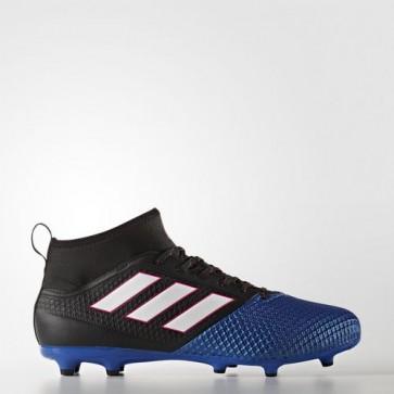 Zapatillas Adidas para hombre ace 17.2 césped natural core negro/footwear blanco/azul BB4325-571