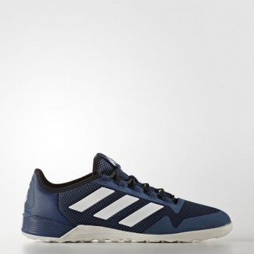 Zapatillas Adidas para hombre sala ace tango 17.2 indoor mystery azul/footwear blanco/core negro BA8543-574