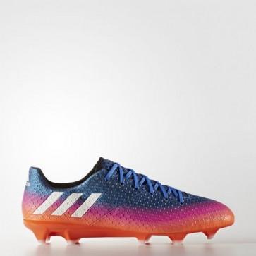 Zapatillas Adidas para hombre messi 16.1 césped natural azul/footwear blanco/solar naranja BB1879-580