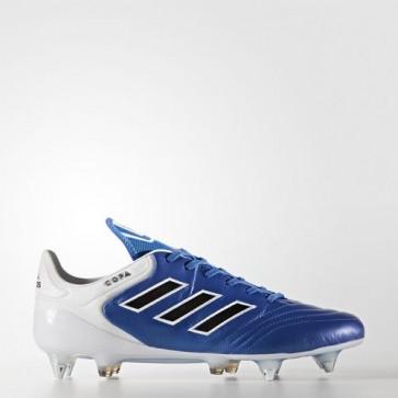 Zapatillas Adidas para hombre copa 17.1 césped natural azul/core negro/footwear blanco BA9195-619