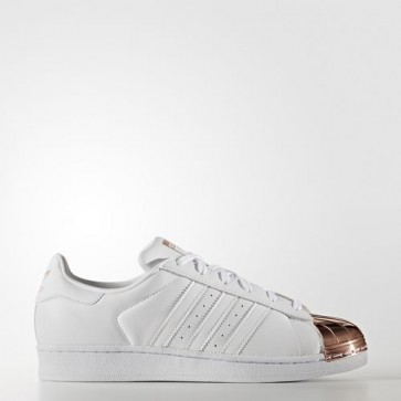 Zapatillas Adidas para mujer super star 80s footwear blanco/copper metallic BY2882-006