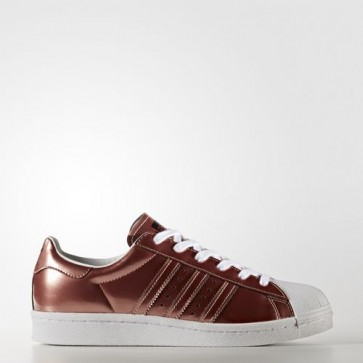 Zapatillas Adidas para mujer super star boost copper metallic/footwear blanco BB2270-019