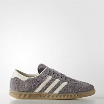 Zapatillas Adidas para mujer hamburg trace gris/off blanco/gum BB5109-045