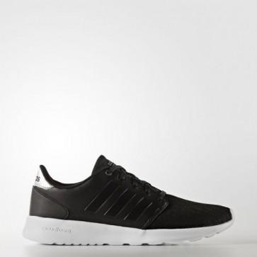Zapatillas Adidas para mujer cloudfoam qt racer core negro/silver metallic AW4017-081