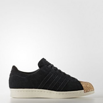 Zapatillas Adidas para mujer super star 80s core negro/off blanco BY2963-098