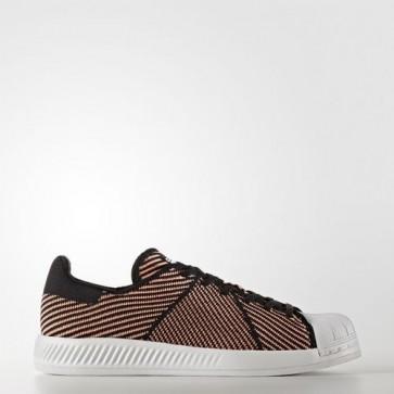 Zapatillas Adidas para mujer super star bounce core negro/sun glow/footwear blanco S82260-099