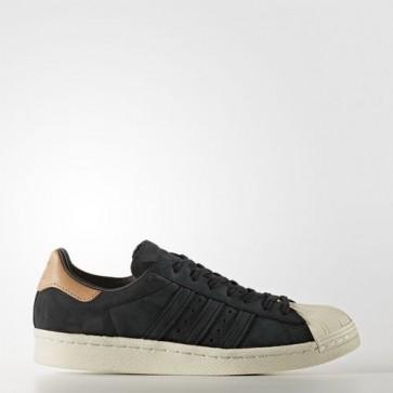 Zapatillas Adidas para mujer super star 80s core negro/off blanco BB2057-115