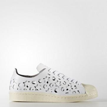 Zapatillas Adidas para mujer super star 80s footwear blanco/cream blanco BB2129-125