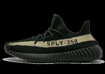 Zapatillas unisex Adidas Yeezy boost 350 V2 negero/verde/negero_019