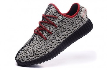 Zapatillas para mujer Adidas Yeezy boost 350 gris/negero/rojo_034