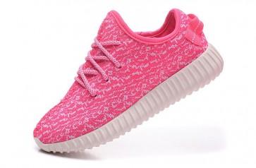 Zapatillas para mujer Adidas Yeezy boost 350 rosa/blanco_036