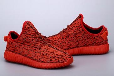 Zapatillas unisex Adidas Yeezy boost 350 rojo_059