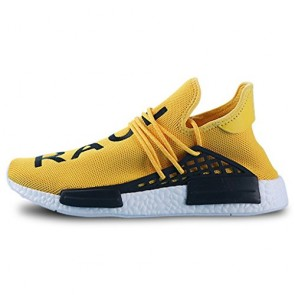 Zapatillas para hombre Adidas yeezy race pharrell williams amarillo/blanco_073