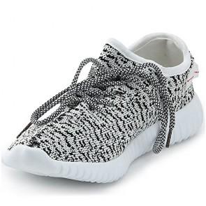 Zapatillas para mujer Adidas yeezy material sintético gris_081