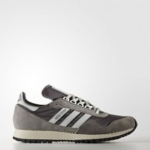 Zapatillas Adidas para hombre new york granite/clear gris/marrón claro BB1186-012