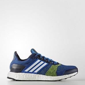 Zapatillas Adidas para hombre ultra boost st azul/footwear blanco/solar amarillo BA7837-022