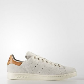Zapatillas Adidas para hombre stan smith marrón claro/off blanco BB0042-027