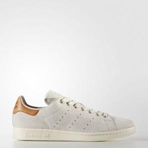 Zapatillas Adidas para hombre stan smith marrón claro/off blanco BB0042-027