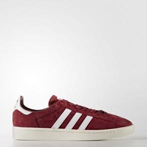 Zapatillas Adidas para hombre campus collegiate burgundy/footwear blanco/chalk blanco BB0079-033
