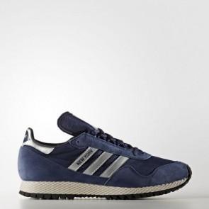 Zapatillas Adidas para hombre new york dark azul/matte silver/collegiate navy BB1188-072