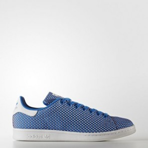 Zapatillas Adidas para hombre stan smith azulbird/footwear blanco BB0058-082