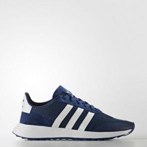 Zapatillas Adidas para mujer flashrunner mystery azul/footwear blanco BA7755-134
