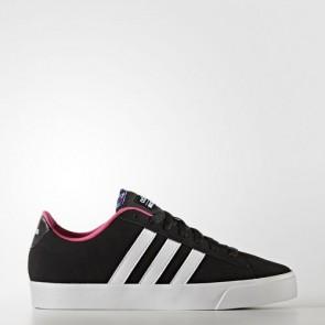 Zapatillas Adidas para mujer cloudfoam daily qt core negro/footwear blanco/shock rosa AW4218-147
