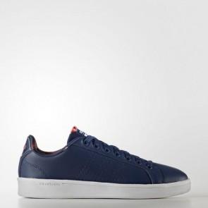 Zapatillas Adidas para mujer cloudfoam advantage mystery azul/shock rojo AW3997-152