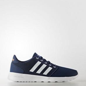 Zapatillas Adidas para mujer cloudfoam qt racer mystery azul/footwear blanco/glow naranja AW4004-159