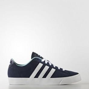 Zapatillas Adidas para mujer cloudfoam daily qt collegiate navy/footwear blanco/clear aqua AW4216-160