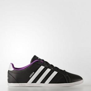 Zapatillas Adidas para mujer vs coneo qt core negro/footwear blanco/matte silver B74551-170