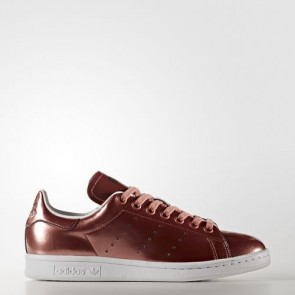 Zapatillas Adidas para mujer stan smith copper metallic/footwear blanco CG3678-171