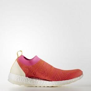 Zapatillas Adidas para mujer pure boost x bright rojo/sulfur/shock rosa BY1969-177