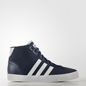 Zapatillas Adidas para mujer cloudfoam daily qt collegiate navy/footwear blanco/clear aqua AW4215-189