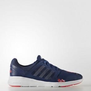 Zapatillas Adidas para mujer cloudfoam xpression mystery azul/footwear blanco/shock rojo AW3999-195