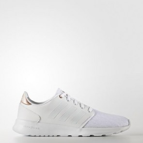 Zapatillas Adidas para mujer cloudfoam qt racer footwear blanco/copper metallic AW4018-203
