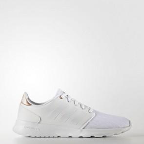 Zapatillas Adidas para mujer cloudfoam qt racer footwear blanco/copper metallic AW4018-203