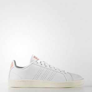 Zapatillas Adidas para mujer cloudfoam advantage footwear blanco/ray rosa AW3974-204