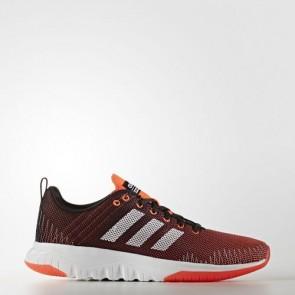 Zapatillas Adidas para hombre cloudfoam super flex core negro/footwear blanco/solar rojo AW4175-108