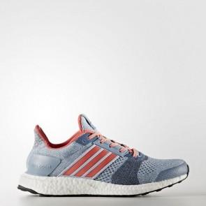 Zapatillas Adidas para mujer ultra boost st easy azul/haze coral/gris oscuro BA7835-216