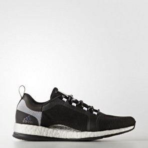 Zapatillas Adidas para mujer pure boost x 2.0 core negro/silver metallic/footwear blanco BB0699-229